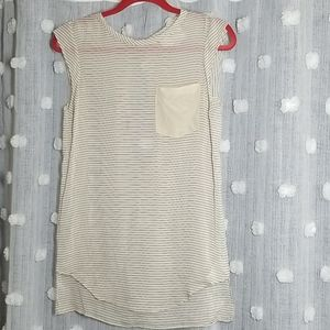 3.1 Phillip Lim Silk Sheered Striped Blouse Size 2